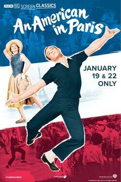 American in Paris (1951) TCM poster