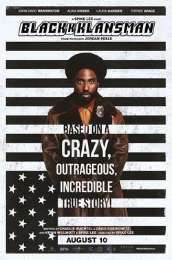 BP19: BlacKkKlansman poster