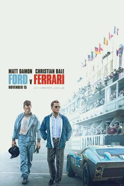 BP20: Ford v Ferrari poster