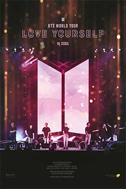 BTS World Tour Love Yourself In Seoul poster
