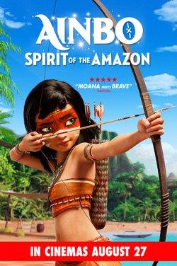 M4J Ainbo: Spirit Of The Amazon poster