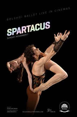 Bolshoi 2021 : Spartacus (Live) poster