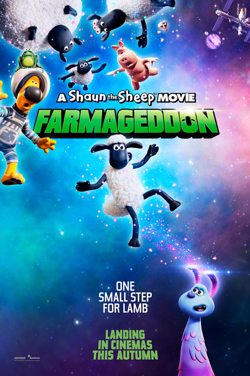 M4J A Shaun The Sheep Movie: Farmageddon poster