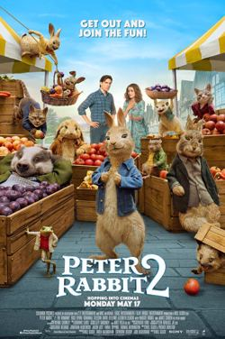 M4J : Peter Rabbit 2 poster