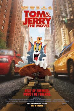 M4JSubs : Tom & Jerry : The Movie poster