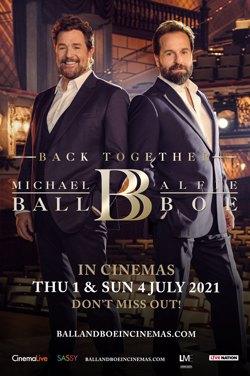 Michael Ball & Alfie Boe : Back Together poster