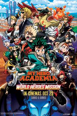 My Hero Academia: World Heroes' Mission Subtitled poster