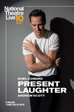 NT Live 2020 Re-Issue : Present Laughter poster