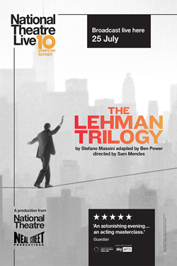 NT Live 2020 Re-Issue : The Lehman Trilogy poster