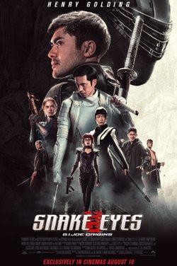 Snake Eyes : G.I. JOE ORIGINS poster