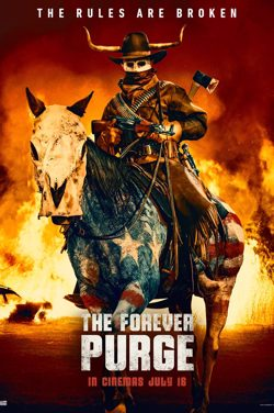 The Forever Purge : Unlimited Screening poster