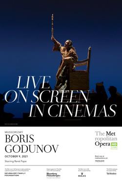 The MET Opera 2021-22: Boris Godunov poster