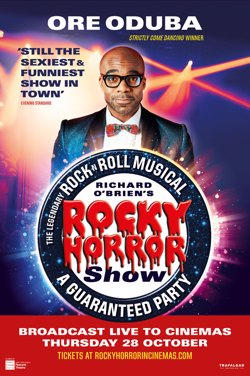 The Rocky Horror Show Live 2021 poster