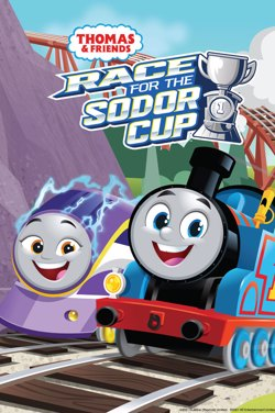 Thomas & Friends: Race For The Sodor Cup poster