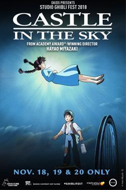Castle in the Sky - Studio Ghibli Fest 2018 poster
