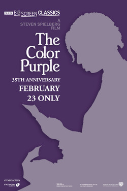 Color Purple (1985) 35th Anniversary TCM poster