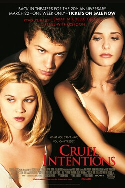 Cruel Intentions - 20th Anniversary poster