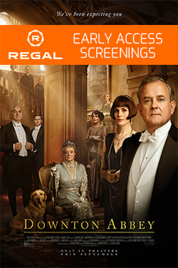 Downton Abbey - Advance Screening poster