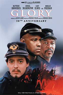 Glory 30th Anniv (1989) TCM poster