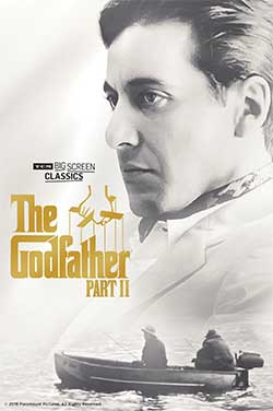 Godfather: Part II 45th Anniv (1974) TCM poster