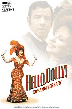 Hello, Dolly! 50th Anniv (1969) TCM poster