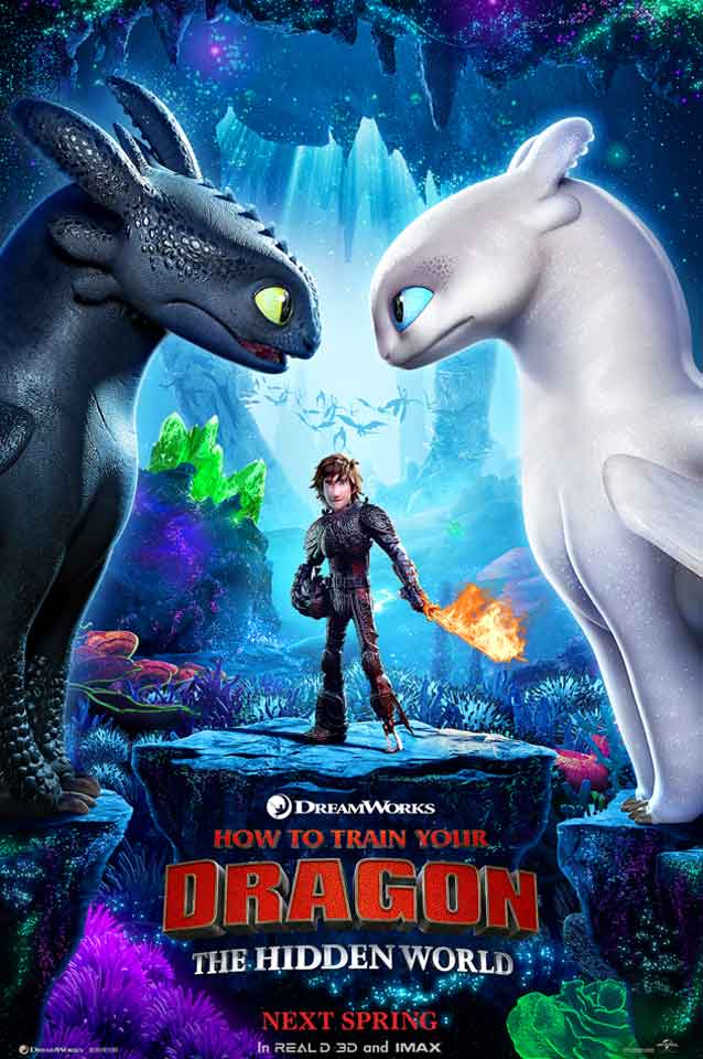 How To Train Your Dragon The Hidden World Book Tickets At Regal