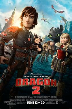 KS19: How to Train Your Dragon 2 poster