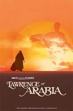 Lawrence of Arabia (1962) TCM poster