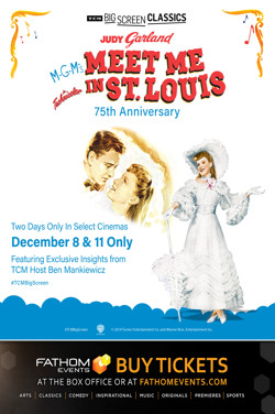 Meet Me in St. Louis 75th Anniversary (1944) TCM poster
