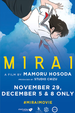Mirai (Dubbed) poster