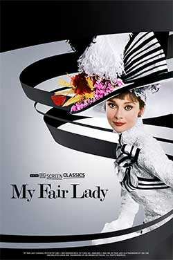 My Fair Lady 55th Anniv (1964) TCM poster