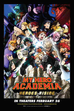 My Hero Academia: Heroes Rising (Subtitled) poster