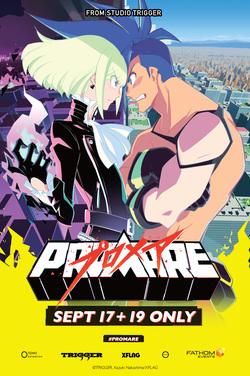 Promare (Premiere Event) (Dubbed) poster