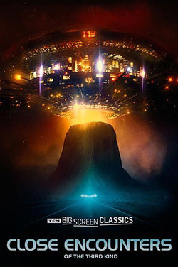 Close Encounters of the Third Kind (1977) TCM poster