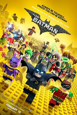 The KS21: LEGO Batman Movie poster
