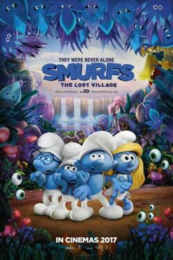 KS21: Smurfs: The Lost Village poster