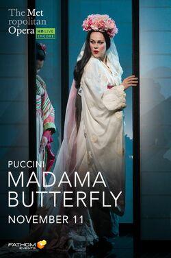 Met Opera: Madama Butterfly (2020 Encore) poster