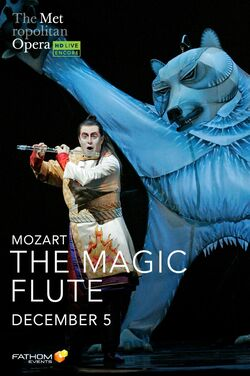 Met Opera: The Magic Flute (2020 Encore) poster