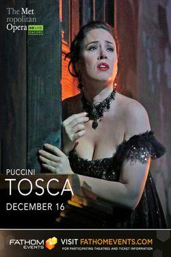 Met Opera: Tosca (2020 Encore) poster