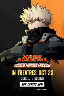 My Hero Academia: World Heroes' Mission (Dubbed) poster