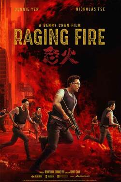 Raging Fire poster