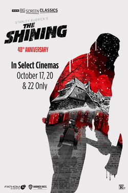 The Shining (1980) 40th Anniversary TCM poster