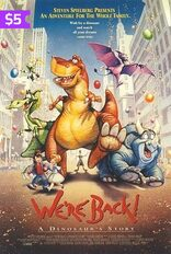 We're Back A Dinosaur Story Movie Poster