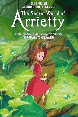 Secret World of Arrietty (Sub)- Ghibli Fest 2019 poster