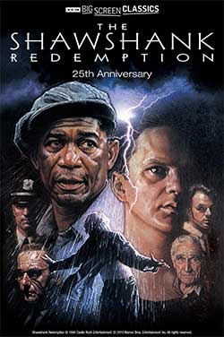 Shawshank Redemption 25th Anniv (1994) TCM poster