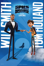 Movie poster for Spies in Disguise