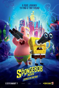 Spongebob Movie: Sponge On The Run poster