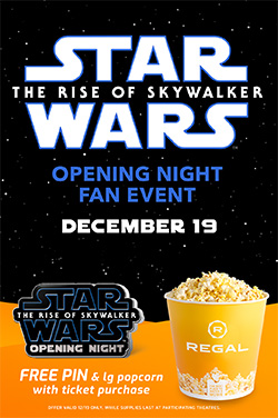 Star Wars: The Rise of Skywalker - Fan Event poster
