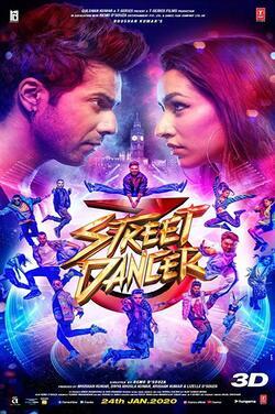 Street Dancer 3 poster