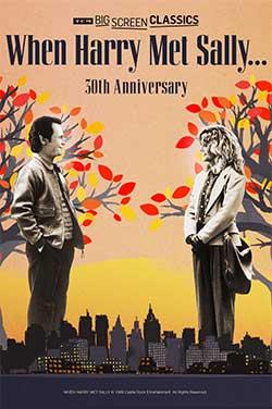 When Harry Met Sally 30th Anniv (1989) TCM poster